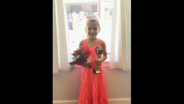 5 and 6 Year Girl: 1st Ryleigh Kay DeVaul, Parents; Colby and Jessica DeVaul